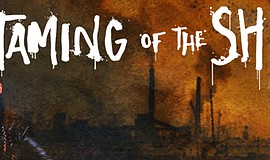 "Promotional graphic for UC San Diego's ""The Taming of the Shrew(d)."""