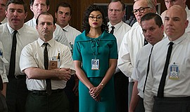"Promotional photo for the screening of ""Hidden Figures."" Courtesy of Hopper S..."