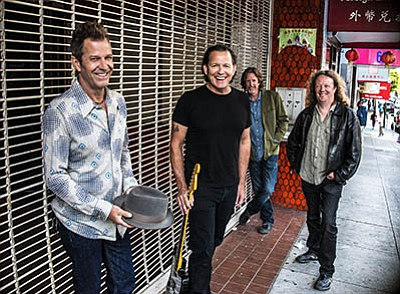 Photo of Tommy Castro and the Painkillers. Courtesy of Al...