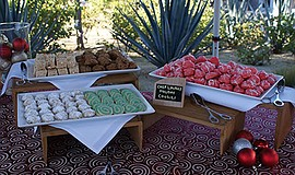 Photo of treats from last year's Tea by the Sea. Courtesy of L'Auberge Del Mar.