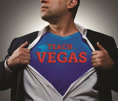 Promotional photo for Teach Vegas.