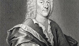 Photo of the late Georg Philipp Telemann, composer of the 24 Fantasies.