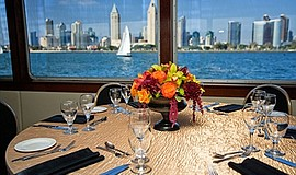 Preview of what the view from the Thanksgiving Day Dining Cruise will be. Cou...