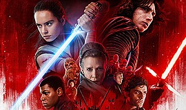 "Photo of the theatrical poster for ""Star Wars: The Last Jedi."" Courtesy of Lu..."