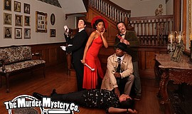 Promotional photo for the Murder Mystery Co.
