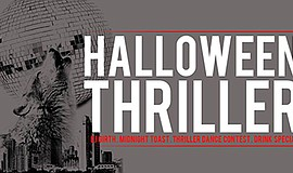 Promotional graphic for the Halloween Thriller Party. Courtesy of Werewolf.