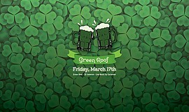 Promotional graphic for the St. Patty's Day Party at Tin Roof San Diego.