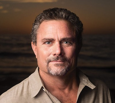 Promotional photo of author Tony Bathey.