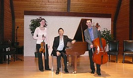 Promotional photo of the Orvieto Piano Trio.