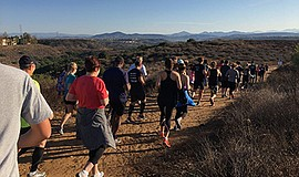 Photo of last year's Turkey Trot. Courtesy of Gut Check Fitness.