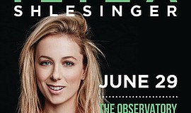 Promotional photo of comedian Iliza Shlesinger. She will perform at The Obser...
