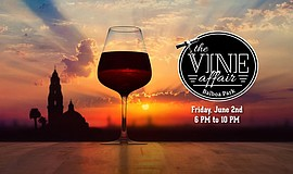 Promotional graphic for The Vine Affair. Courtesy of Balboa Park Cultural Par...
