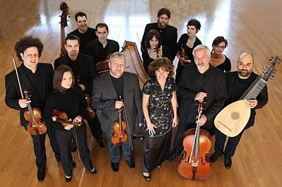 A promotional photo for the San Diego Early Music Society...