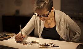 A photo of artist and scientist Melissa Walter.
