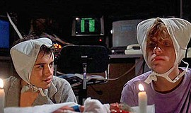 "A photo from the film ""Weird Science."""