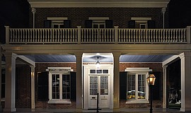 Exterior photo of Whaley House Museum. Courtesy of Save Our Heritage Organisa...