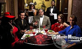 "Promotional photo for ""Of Sound Mind and Dead Body."" Courtesy of The Murder M..."