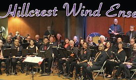 The Hillcrest Wind Ensemble.