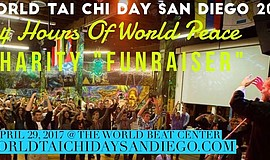 Promotional graphic for World Tai Chi Day San Diego.
