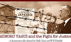 "Promotional photo for ""Never Give Up: Minoru Yasui And The Fight For Justice...."