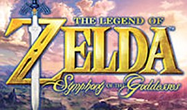 A promotional poster for The Legend of Zelda: Symphony of the Goddesses.