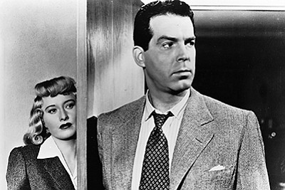 "A photo from the 1944 film, ""Double Indemnity,"" courtesy ..."