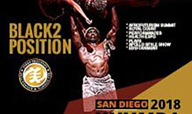 Promo graphic for San Diego Kuumba Fest 2018: Black 2 P...