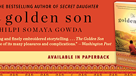Promo graphic for Author Talk: Shilpi Somaya Gowda