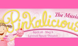 Promo graphic for 'Pinkalicious' The Musical