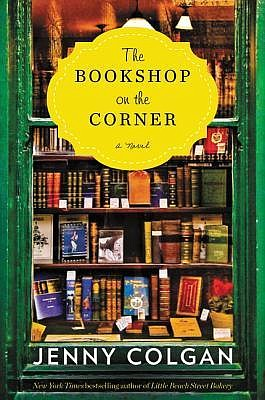 """Cover of """"The Bookshop on the Corner,"""" a novel by Jenny C..."""