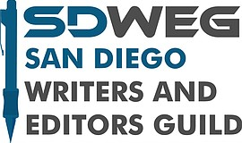 Promo graphic for San Diego Writers & Editors Guild Mon...