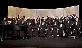 Promotional photo of Center Chorale. Courtesy of Center C...