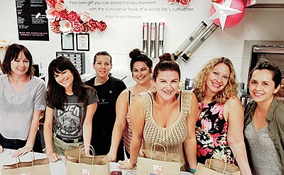Photo from a previous New Year chocolate making class. Co...