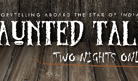 Promotional graphic for the Haunted Tales event. Courtesy...