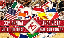 Promo graphic for 33rd Annual Linda Vista Multi-Cultura...