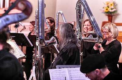 Photo courtesy of Songs of the Angels Flute Orchestra.