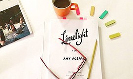 Promo graphic for Amy Poeppel - 'Limelight'