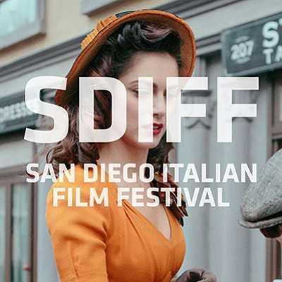 Promotional graphic for the film festival. Courtesy of th...