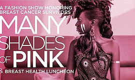 Promo graphic for Many Shades Of Pink: A Fashion Show H...
