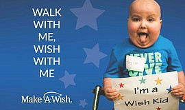 Promo graphic for Walk For Wishes