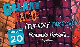 Promo graphic for Tuesday Takeover With Fernando Gaxiola