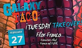 Promo graphic for Tuesday Takeover With Flor Franco