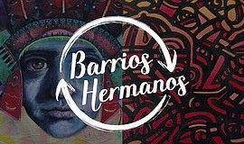 Promo graphic for Barrios Hermanos Presents: Border Art