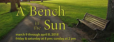 "Promotional graphic for ""A Bench in the Sun."" Courtesy of..."