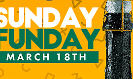 Promo graphic for Sunday Funday Brunch