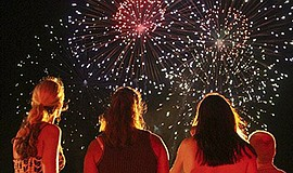 Promotional photo for the Oceanside Firework Show. Courte...
