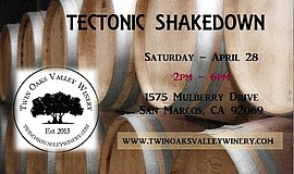 Promo graphic for Spring Wine Stomp