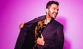 Promo graphic for Andy Grammer