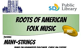 Promo graphic for Roots Of American Folk Music