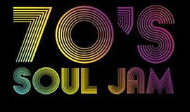Promotional graphic for the 70s Soul Jam. Courtesy of Hum...